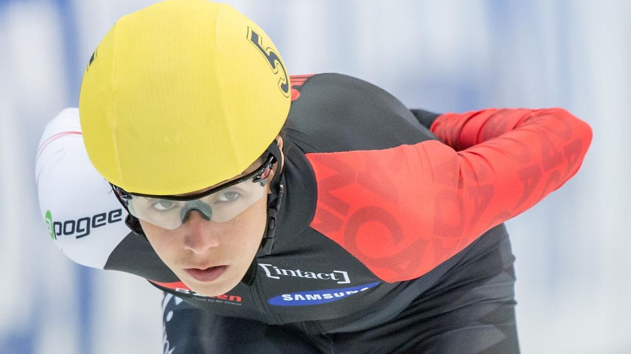 Marie ve drolet fait un retour remarqu en patinage de vitesse courte piste - Formule vitesse de coupe ...
