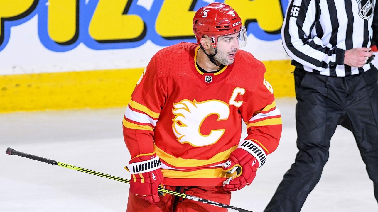 Rumeurs : la fin pour le capitaine des Flames à Calgary?