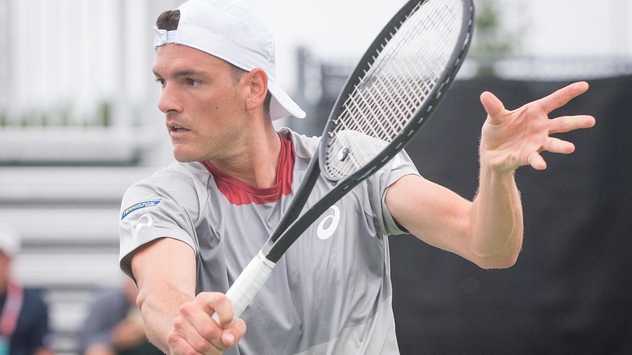 Frank Dancevic revient de l'arrière contre Tennys Sandgren à Newport (tennis ATP)