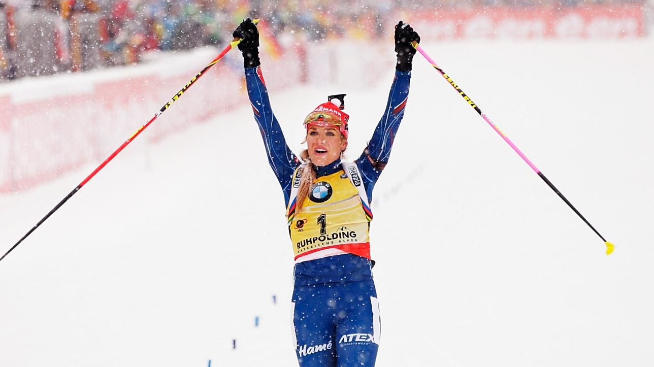 Biathlon gabriela soukalova remporte la 10e victoire de - Classement coupe du monde de biathlon ...
