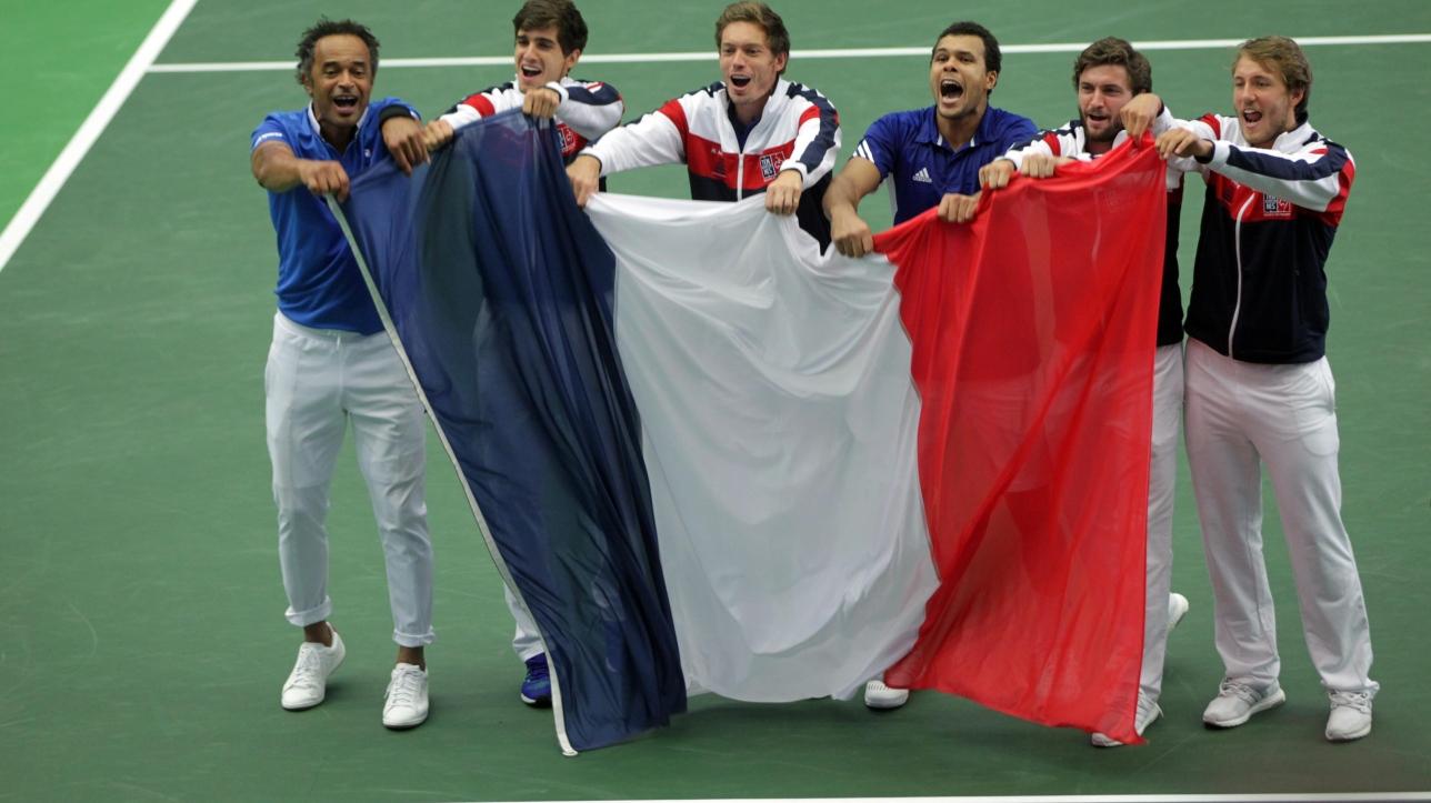 Tennis la france bat la r publique tch que et atteint - Coupe davis france republique tcheque ...