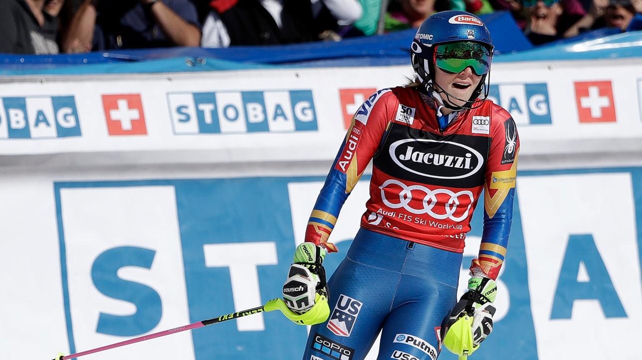 Ski alpin l 39 am ricaine mikaela shiffrin remporte le - Classement coupe du monde de ski alpin ...
