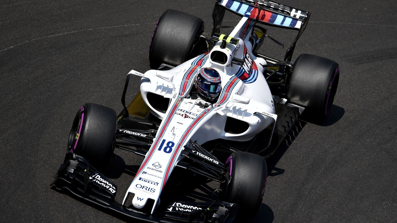 f1 lance stroll s 39 lancera de la 17e place au grand prix de monaco. Black Bedroom Furniture Sets. Home Design Ideas