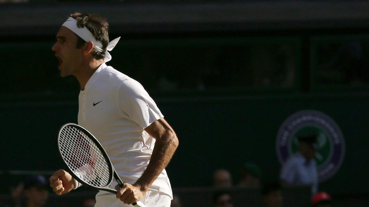 Wimbledon : Roger Federer et la judicieuse mise au vert