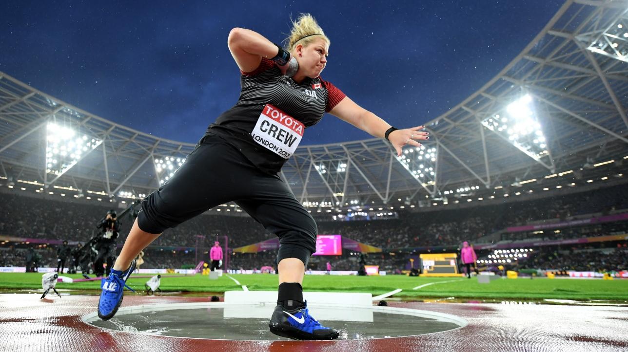 Mondiaux d'athlétisme : Brittany Crew sixième au lancer du