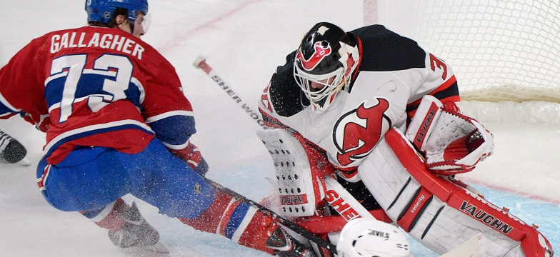 Brendan Gallagher et Martin Brodeur