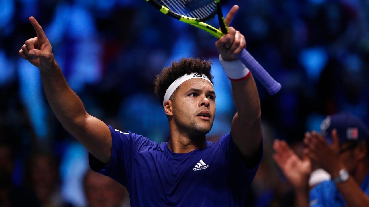 Coupe Davis : France et Belgique à égalité