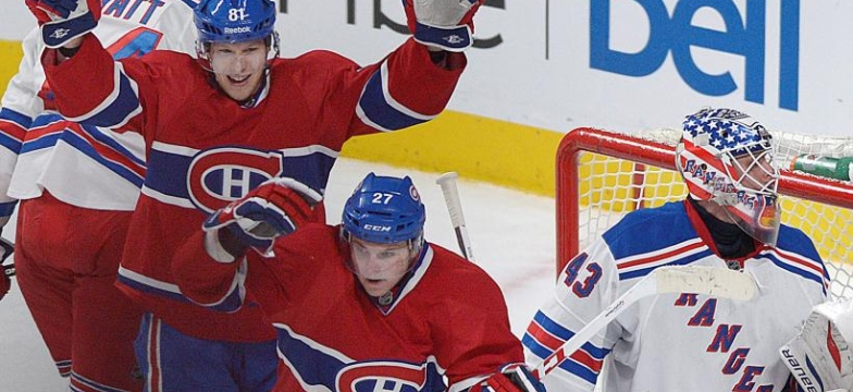 Canadiens 3 - Rangers 0