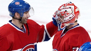En son et images : Rangers - Canadiens