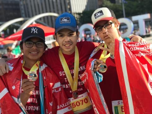 Au marathon de Toronto
