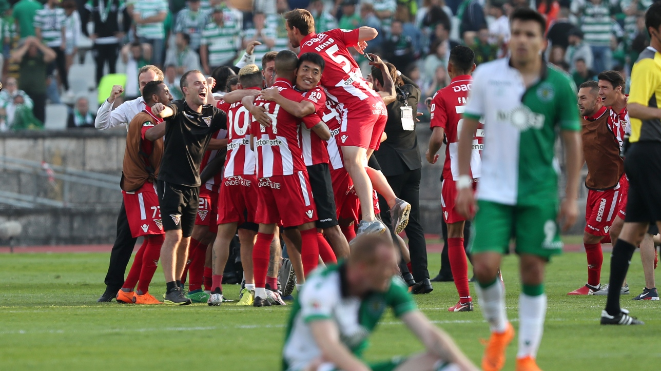 Soccer coupe du portugal le sporting surpris par le - Coupe du portugal football ...
