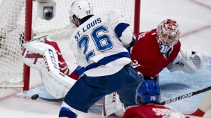 En son et images : Lightning - Canadiens