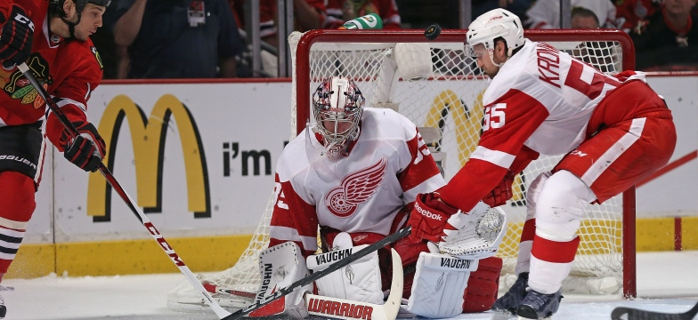 Jimmy Howard et Niklas Kronwall