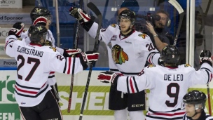 Winterhawks 6 - Knights 3