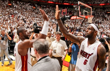 Lebron James et Dwyane Wade