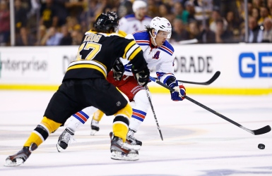 Torey Krug et Brad Richards