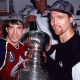 Patrick Roy et Joe Sakic