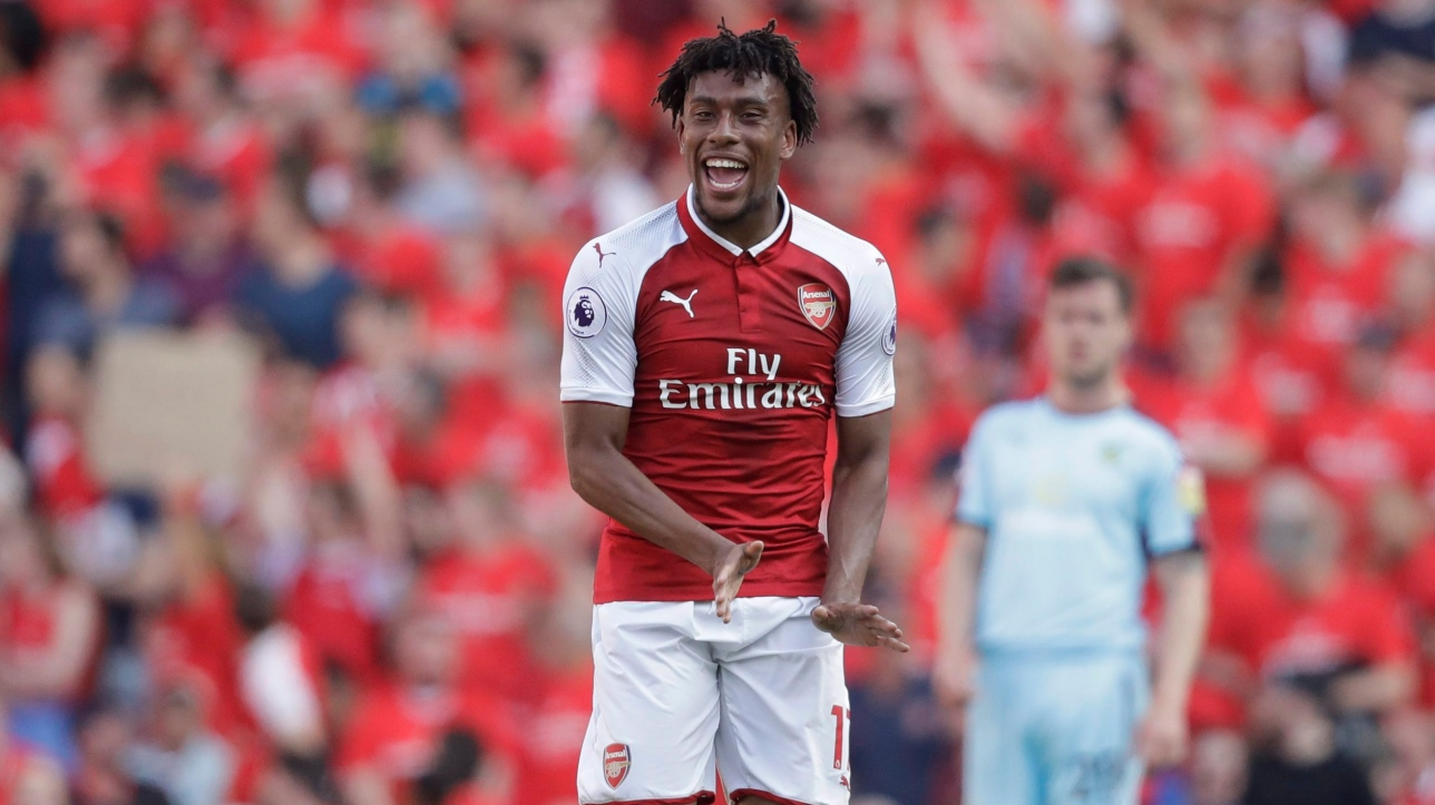 Maillot Extérieur Arsenal Alex Iwobi