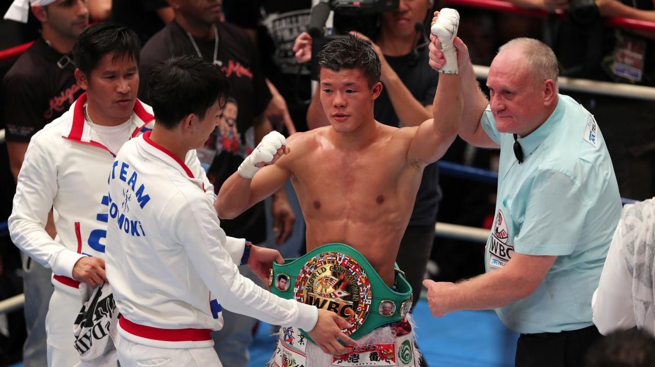WBC : Kameda s'empare du titre intérimaire