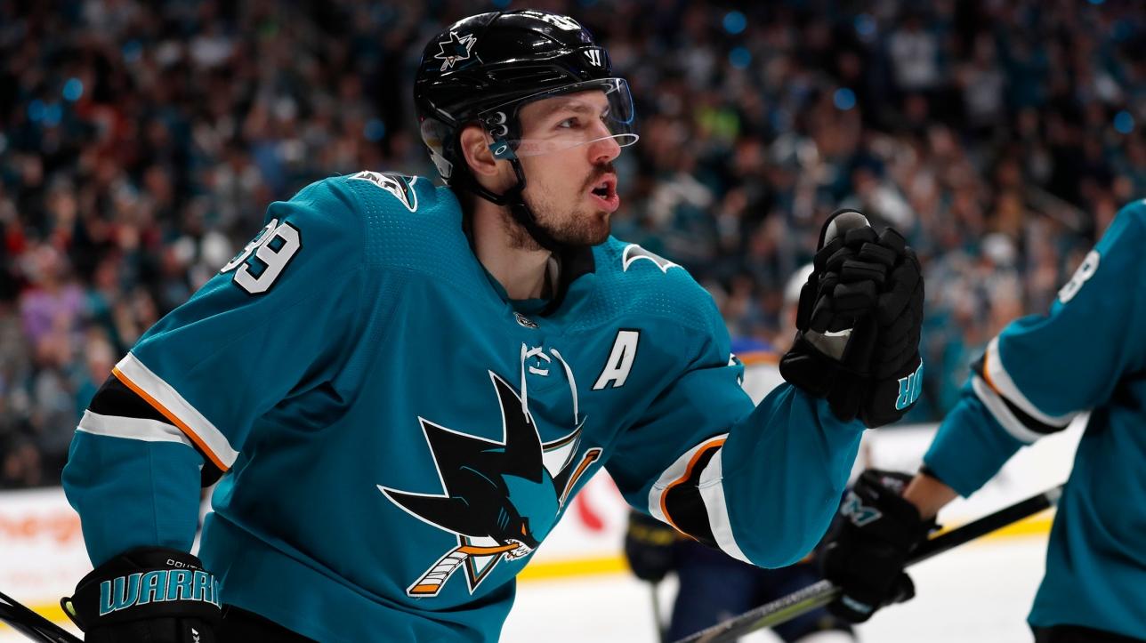 LNH : Logan Couture nommé capitaine des Sharks | RDS.ca