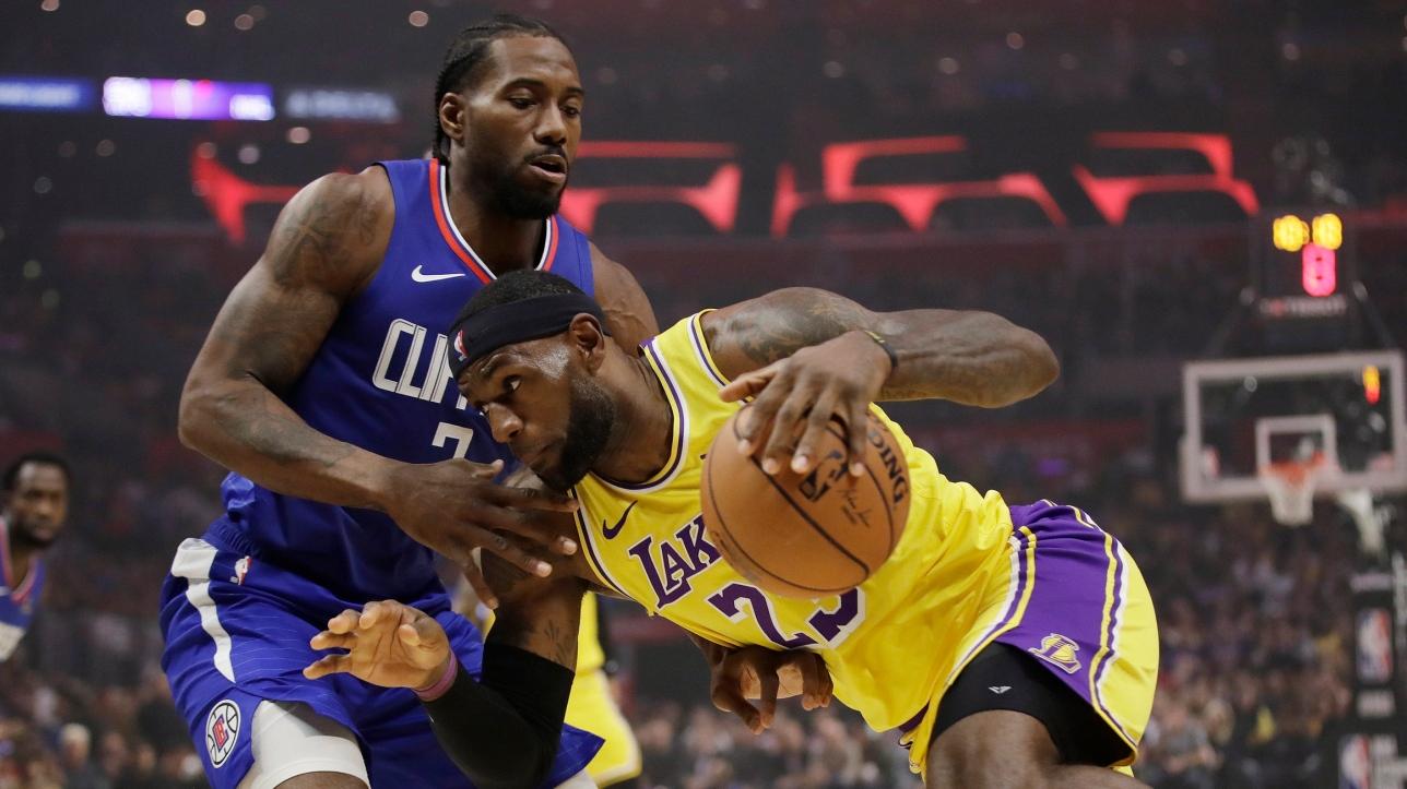 NBA : Kawhi Leonard et les Clippers gagnent la 1re bataille de Los Angeles devant les Lakers | RDS.ca