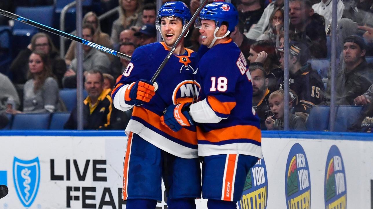 LNH : Anthony Beauvillier donne la victoire aux Islanders en prolongation face aux Sabres   RDS.ca