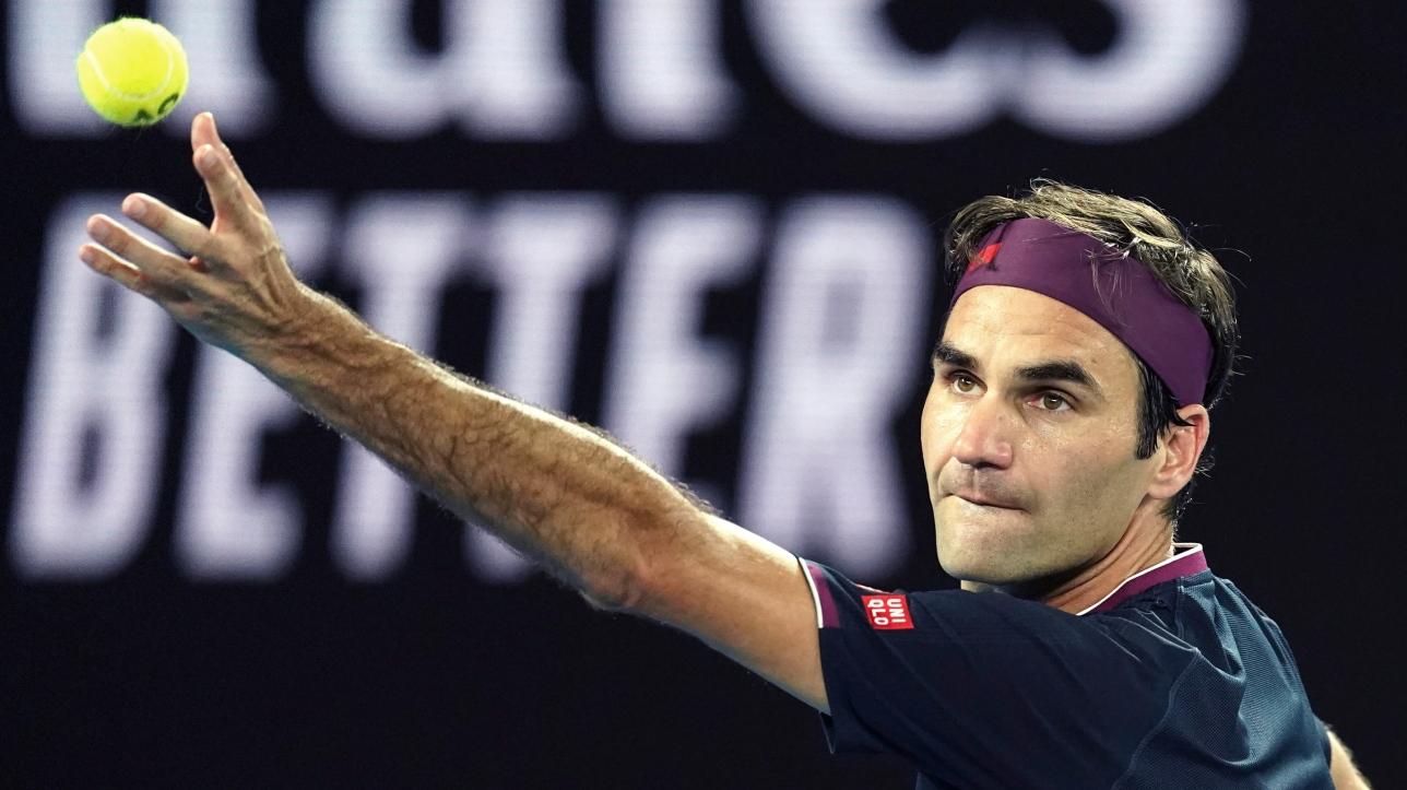 Roger Federer affrontera Jérémy Chardy ou Dan Evans lors de son premier match à l'Omnium de ...